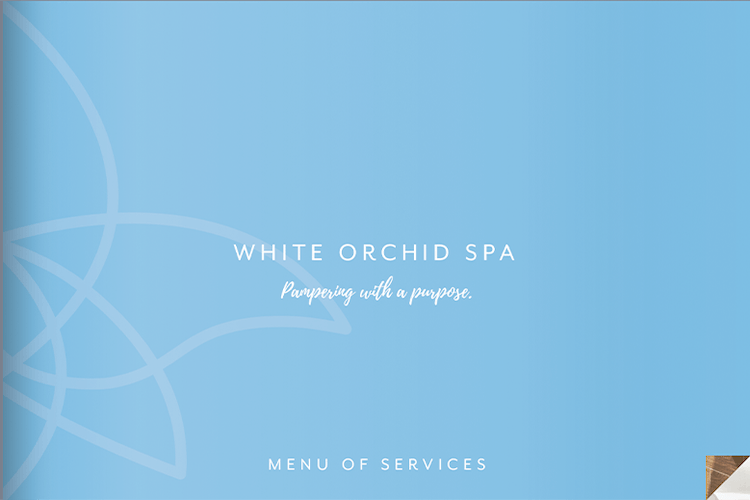 White Orchid Spa Menu of Services