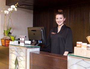 White Orchid Spa Front Desk