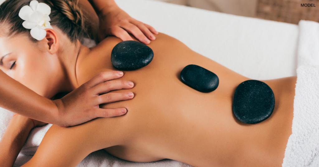 Hot stone massage in Vero Beach FL